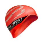 หมวกว่ายน้ำ-red