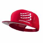 หมวกแก๊ปผ้าตาข่าย-red