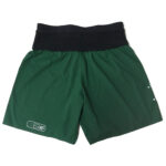 Men_s Sherpa Shorts – British Racing Green (back flat lay)