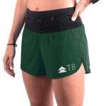 Women_s Sherpa Shorts – British Racing Green (front side)