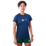 Women_s Iced Tee – Blueberry, Front